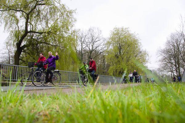 Emsland Anradeln Radfahrergruppe